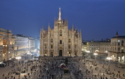 Piazza del Duomo by night. di Luce. #ODM596