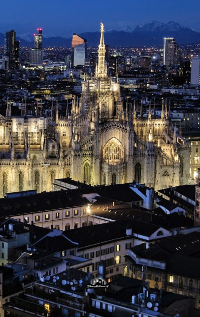 Duomo by Night Il Pirellone #MBYN9043370