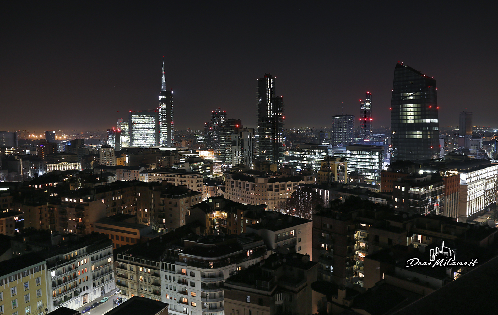 milano, skyline, porta nuova, sede bnp paribas, samsung district