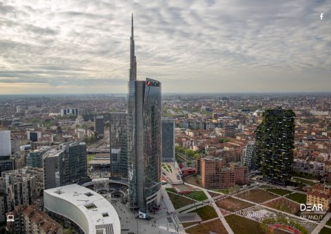 torre unicredit, milano, bosco verticale