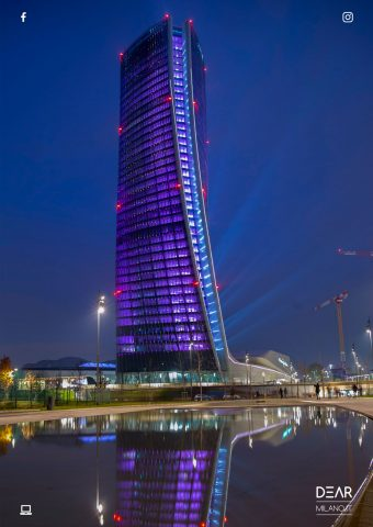 torre hadid, inaugurazione citylife shopping district