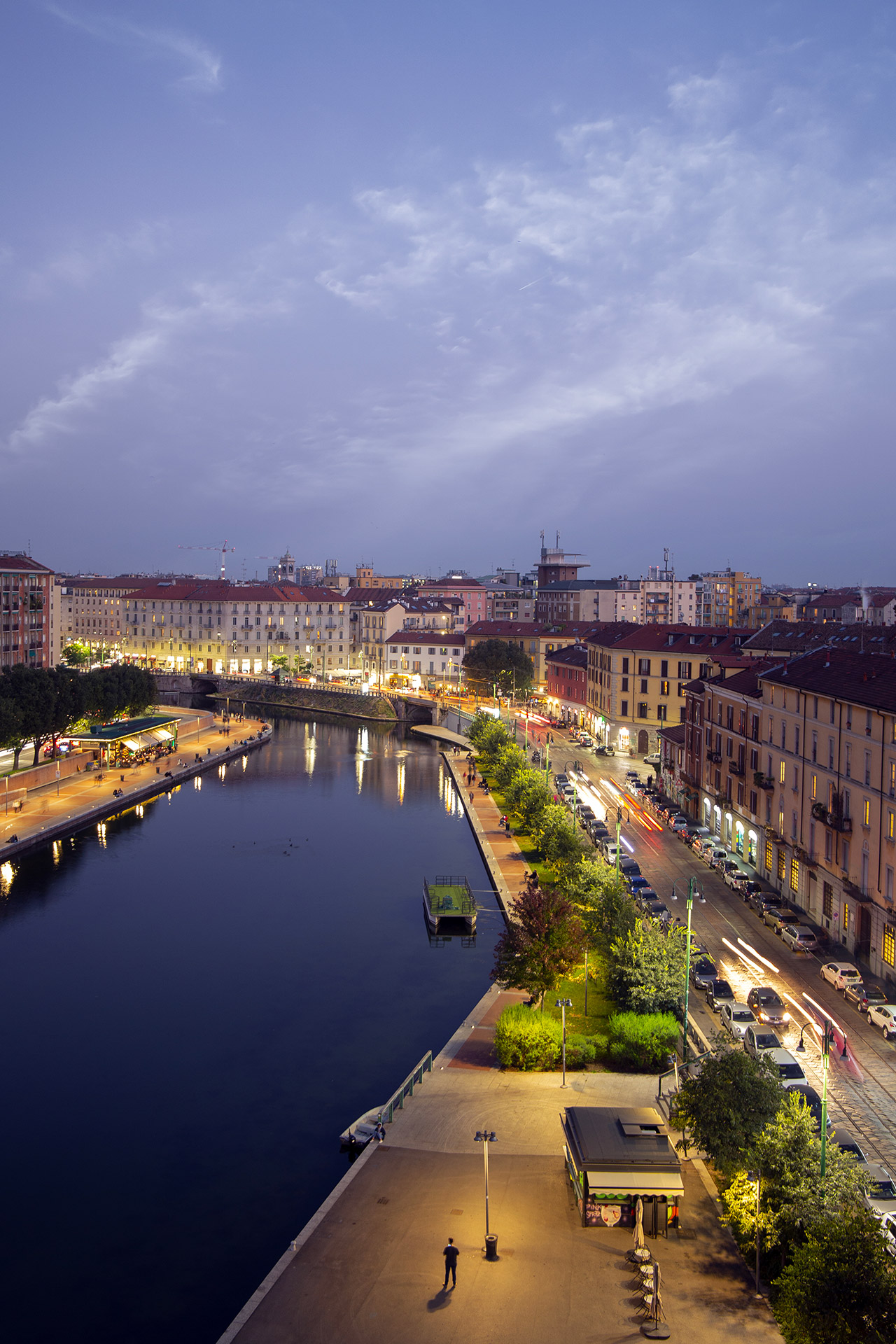darsena, milano by night